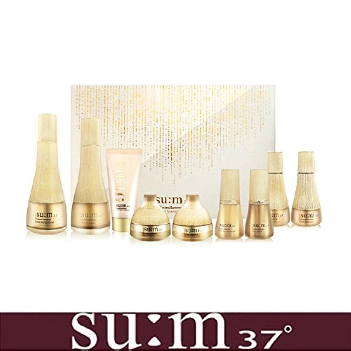 スカウト死の顎第九[su:m37/スム37°]LosecSumma Premium 2PCS Special Limited Skincare Set/2種プレミアムスペシャルリミテッドスキンケアセット + [Sample Gift](海外直送品)