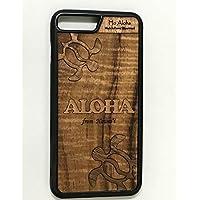 iPhone 8 Plus / 7 Plus カバー 【 ホヌ 】 ハワイ スマホ ケース 【 Ho Aloha 】 ハワイアン コアウッド アイフォン ケース