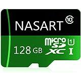NASART 128GB/256GB/400GB マイクロSD SDXCメモリカード高速クラス10 256 GB with Micro SDアダプタ、Designed for Androidスマートフォン、タブレッ?#21462;ⅳ瑜?#20182;の (128GB)