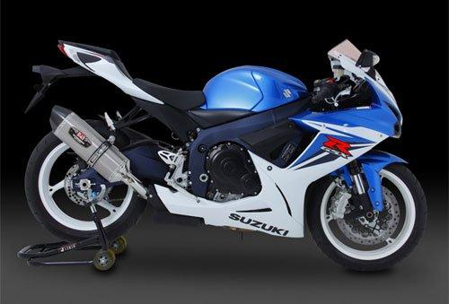 ヨシムラ(YOSHIMURA) バイクマフラー スリップオン R-77J サイクロン EXPORT SPEC 政府認証 SMC メタル マジックカバー/カーボンエンド GSX-R750(EU仕様 L1) GSX-R600(EU仕様 L1) 110-571-5W20 バイク オートバイ