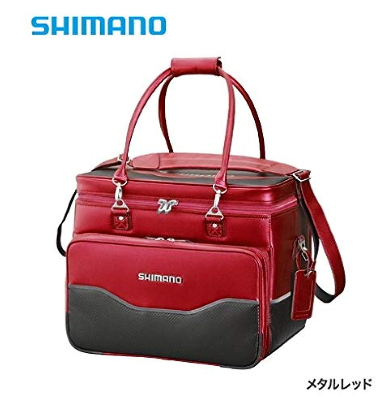 苦味インフラ飲料シマノ へらバッグXT メタルレッド 50L BA-012Q