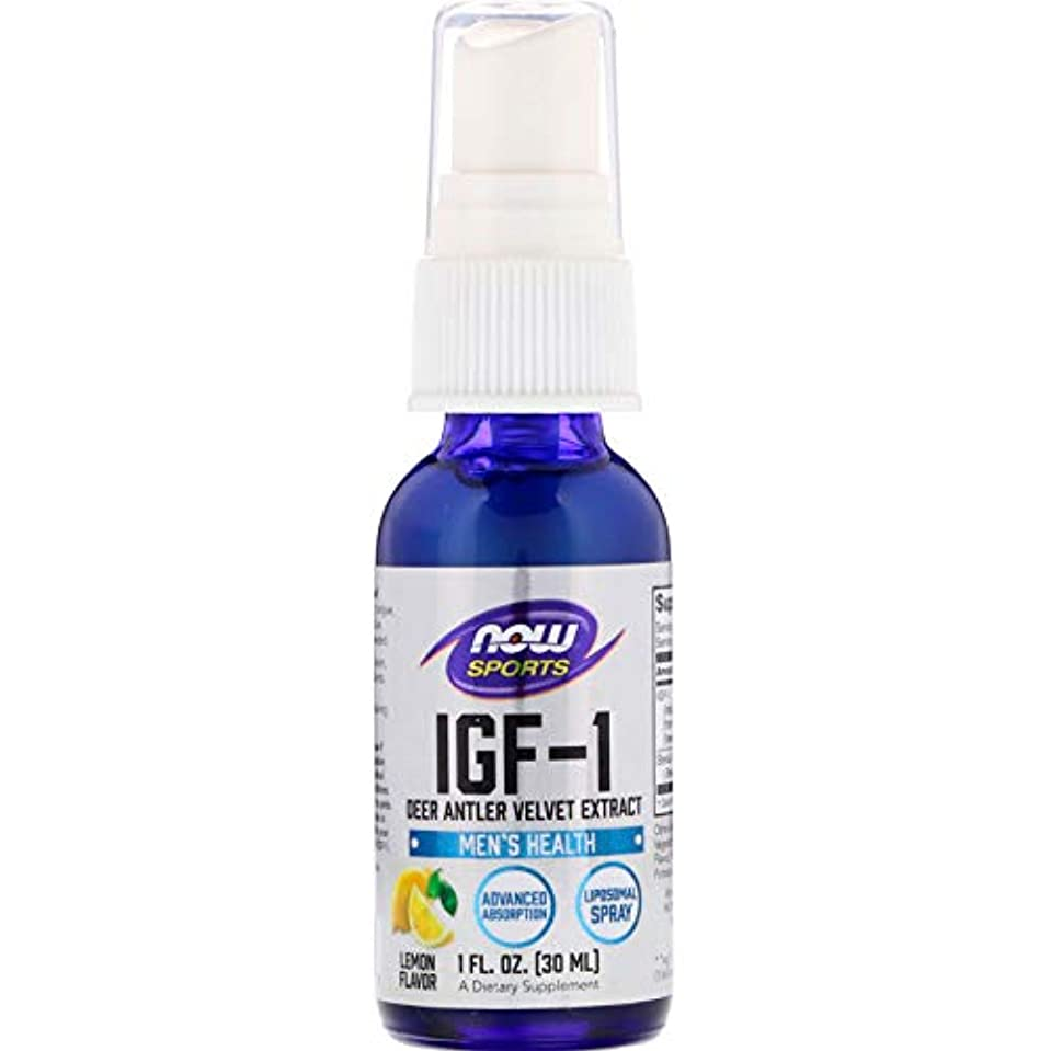 脊椎避難ポジティブIGF-1リポソームスプレー1オンス(28ml) IGF-1 plus Liposomal Spray 1oz #NOW03201