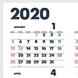 デザインフィル イノベーター 2020年 カレンダー 壁掛け ポスター 30920006 画像