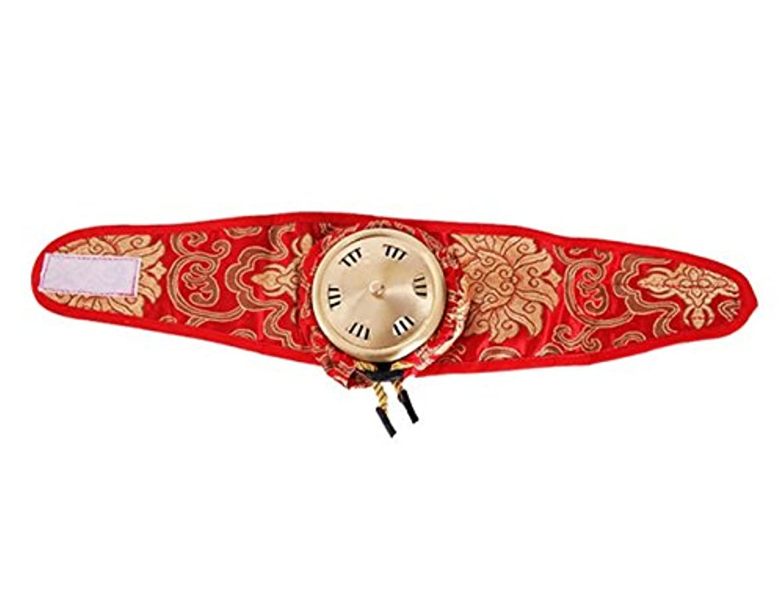 ストレッチ嘆く削減ポータブルシングルリンク純粋な銅サテン布灸マッサージボックス Elitzia ET01