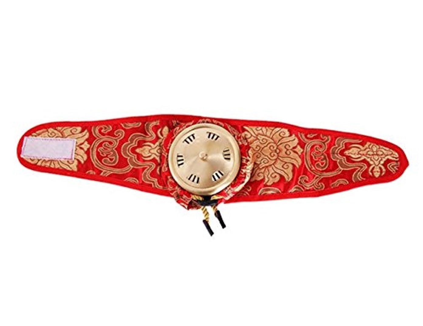 告白するステッチストレッチポータブルシングルリンク純粋な銅サテン布灸マッサージボックス Elitzia ET01