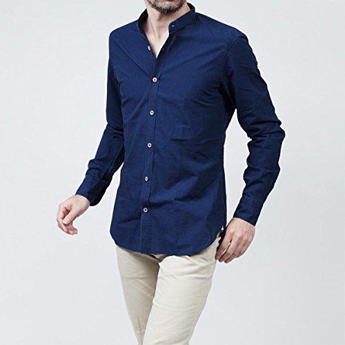 (バルバ) BARBA スタンドカラーシャツ/デニムシャツ/DANDY LIFE THE VINTAGE SHIRT [並行輸入品]