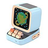 Divoom DITOO レトロPCモニターデザイン Bluetoothスピーカー PIXELART ドット絵 (ブルー)