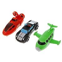 T TOOYFUL 立体パズル 車 飛行機 変形ロボットおもちゃ 組み立てブロック 知育玩具