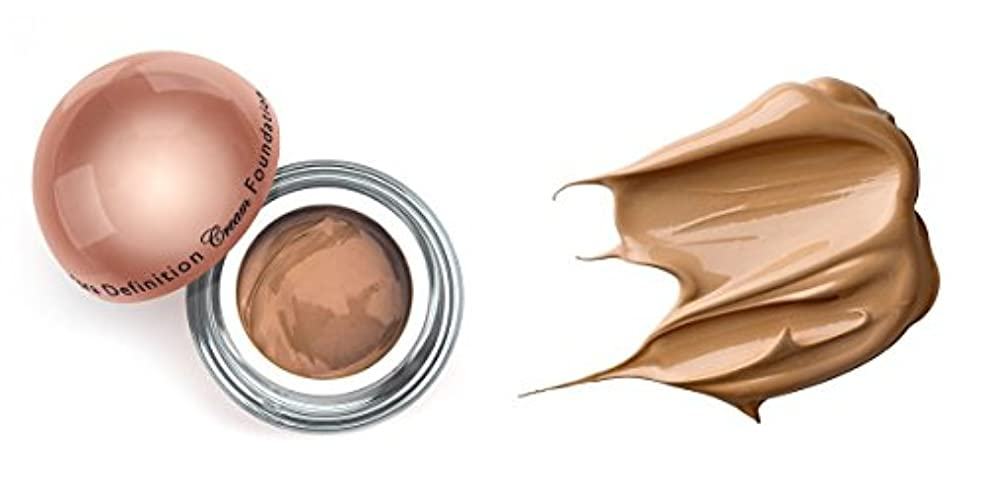 粘性のベーコン亡命LA Splash (無料なめらかな顔のシートマスク付き)LA-スプラッシュウルトラ定義されたクリームファンデーション 1オンス キャラメル/ 1オンス(20210)