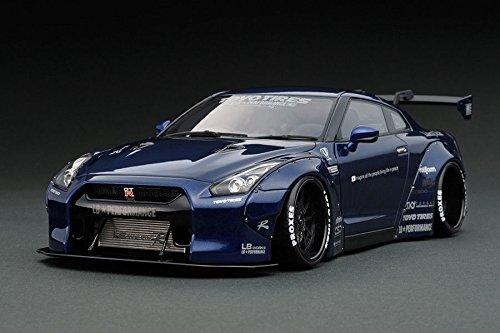 1/18 Ignition LB Works GT-R R35 Dark Blue