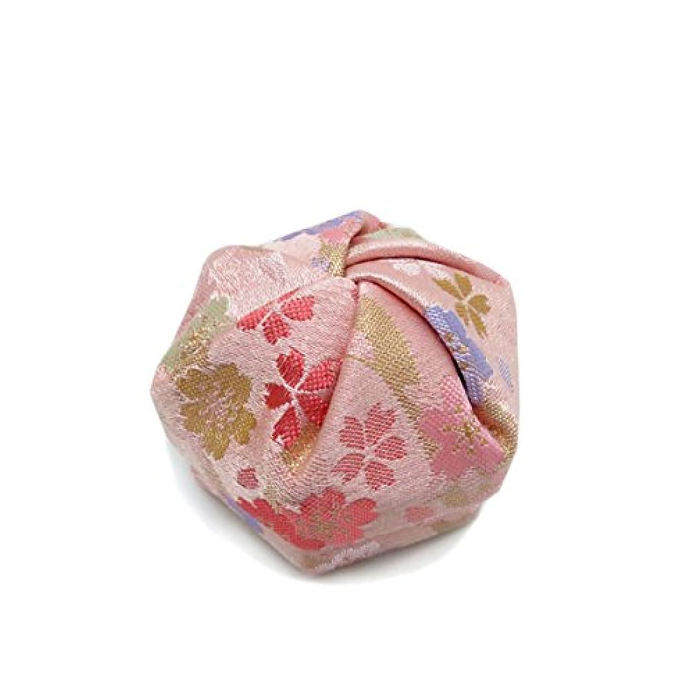 豆腐保証する持参布香盒 ピンク系 紙箱入