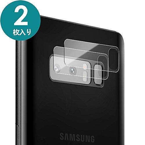 Galaxy Note 8 カメラフィルムDalinch Galaxy Note 8 ガラスカメラフィルム 超薄型 高透過率 硬度9H 2.5Dラウンドエッジ 飛散防止 自動吸着 貼り付け簡単 Samsung Galaxy Note8 カメラレンズ保護フィルム(2枚入り)