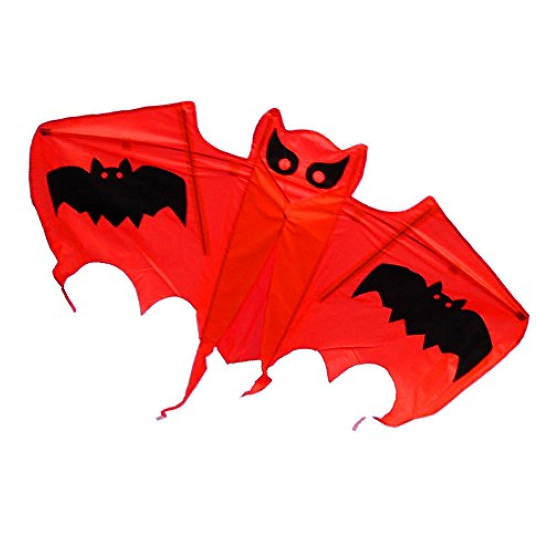 US Sky Kite Small Cute Bat子供のおもちゃKite新しいレッドカラー