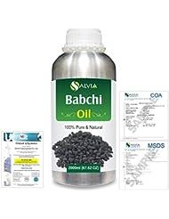 Babchi (Psoralea Corylifolia) 100% Pure Natural Oil 2000ml/67 fl.oz.