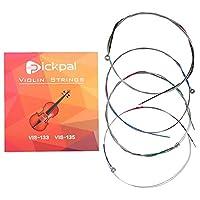 バイオリン弦 E・A・D・G線セット 代替弦 4/4ヴァイオリン弦 ヴァイオリン弦