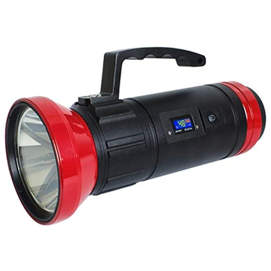 スピンクレジット靄スーパーブライト強力なLEDハイパワーフィッシングライト、ナイトフィッシングライト、スーパーブライトグレアフィッシング懐中電灯