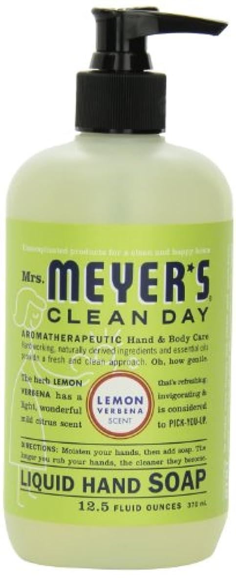 常習的レシピモチーフMrs. Meyer's Clean Day Liquid Hand Soap, Lemon Verbena, 12.5 Fluid Ounce Bottles (Case of 6) by Mrs. Meyer's Clean Day