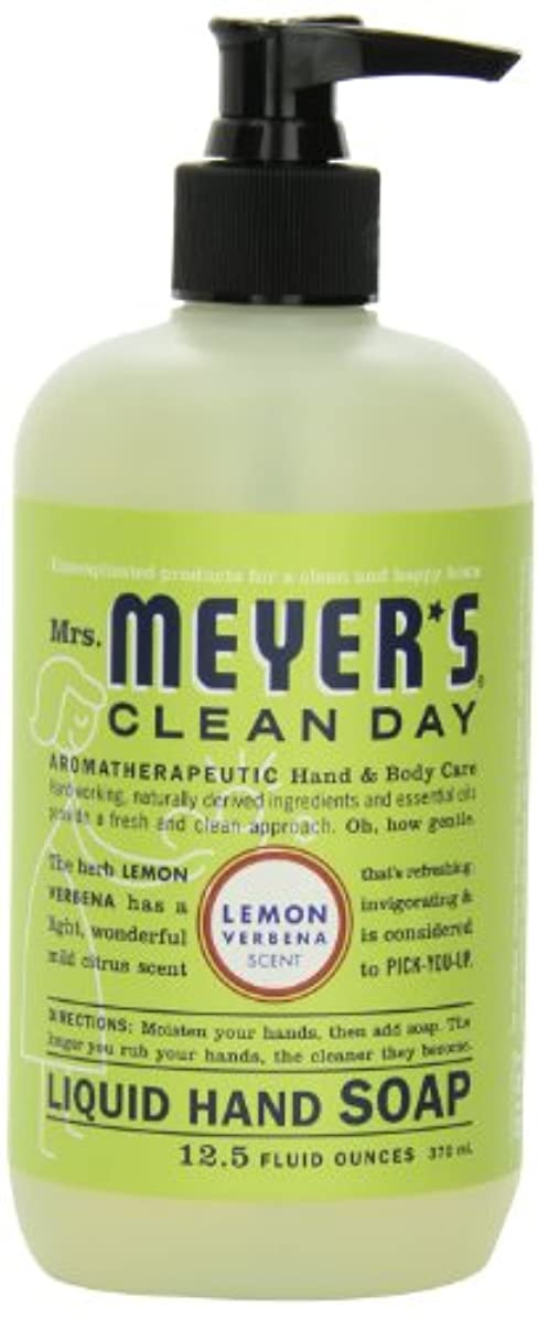 芽磁気細心のMrs. Meyer's Clean Day Liquid Hand Soap, Lemon Verbena, 12.5 Fluid Ounce Bottles (Case of 6) by Mrs. Meyer's Clean...