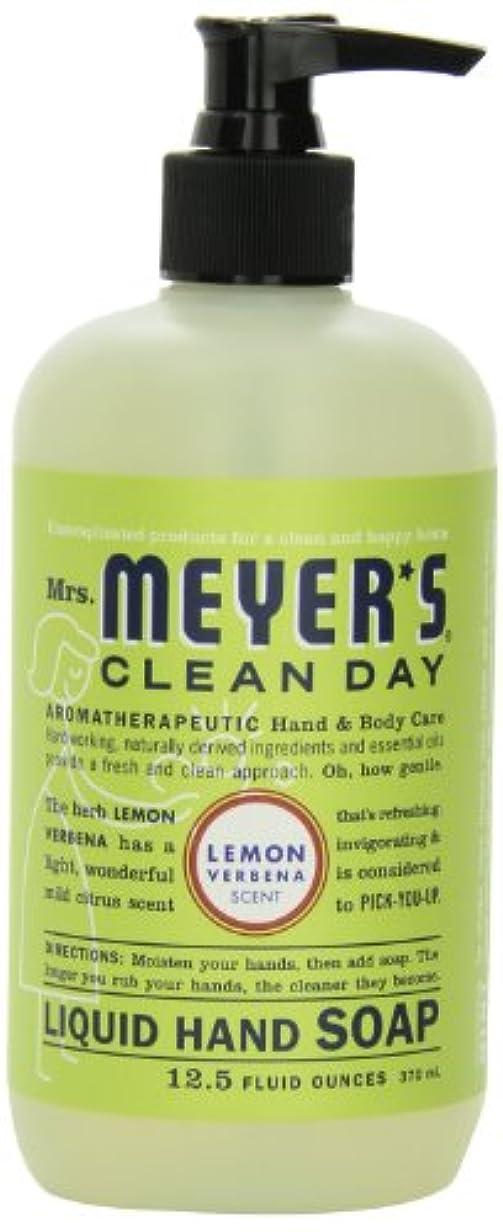 憂鬱フィット改修Mrs. Meyer's Clean Day Liquid Hand Soap, Lemon Verbena, 12.5 Fluid Ounce Bottles (Case of 6) by Mrs. Meyer's Clean...