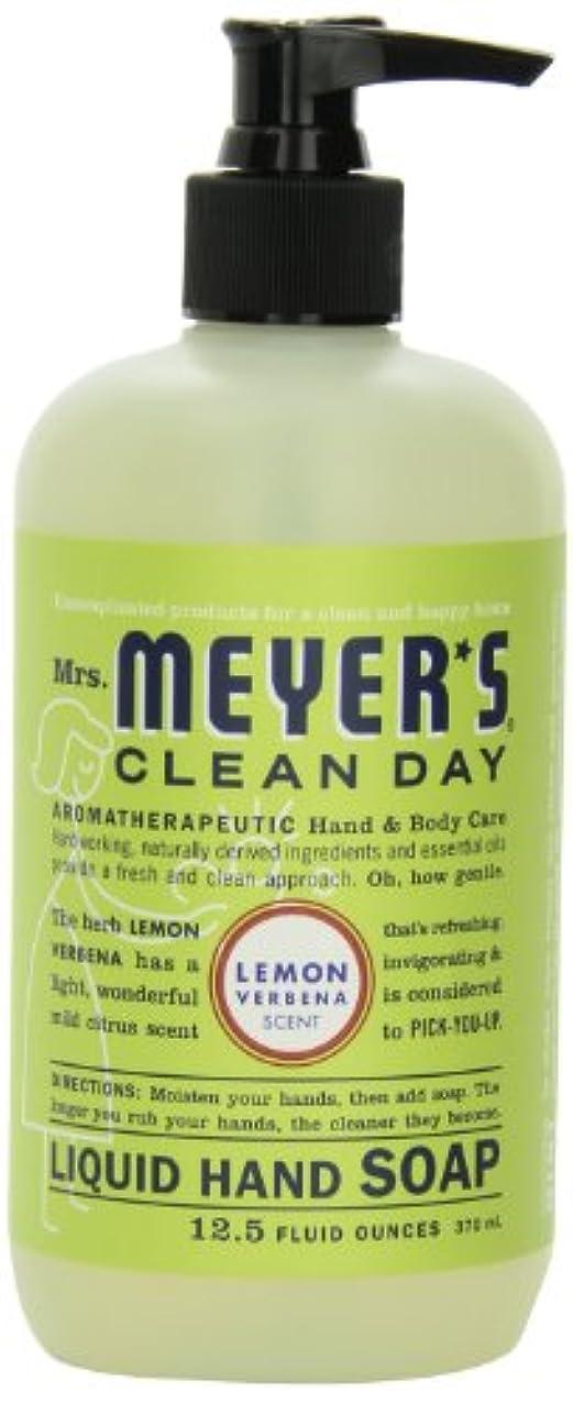 封筒メトリック予想するMrs. Meyer's Clean Day Liquid Hand Soap, Lemon Verbena, 12.5 Fluid Ounce Bottles (Case of 6) by Mrs. Meyer's Clean...