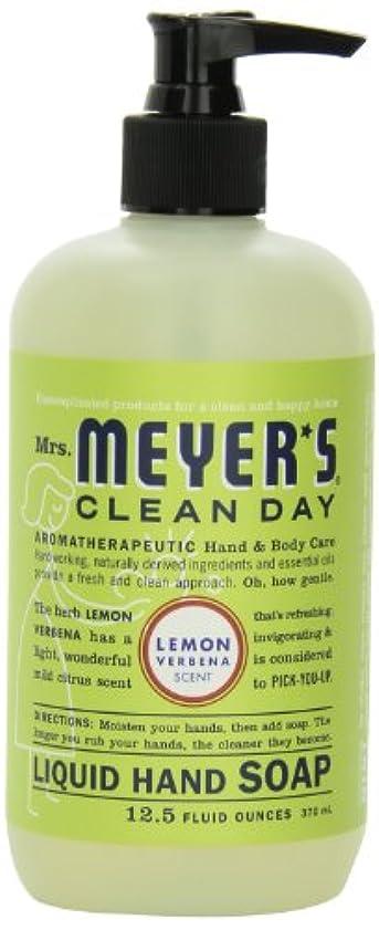 考え慈善膨張するMrs. Meyer's Clean Day Liquid Hand Soap, Lemon Verbena, 12.5 Fluid Ounce Bottles (Case of 6) by Mrs. Meyer's Clean...
