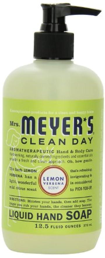 以前はフィードオン契約Mrs. Meyer's Clean Day Liquid Hand Soap, Lemon Verbena, 12.5 Fluid Ounce Bottles (Case of 6) by Mrs. Meyer's Clean...