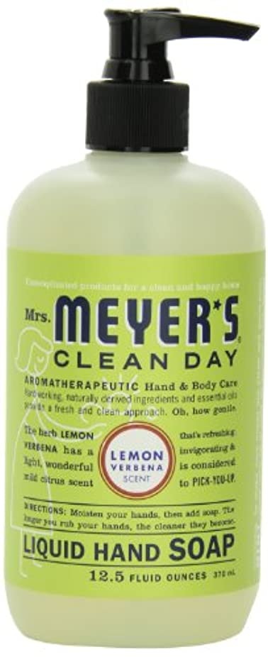 泥沼ヒューム追放するMrs. Meyer's Clean Day Liquid Hand Soap, Lemon Verbena, 12.5 Fluid Ounce Bottles (Case of 6) by Mrs. Meyer's Clean...