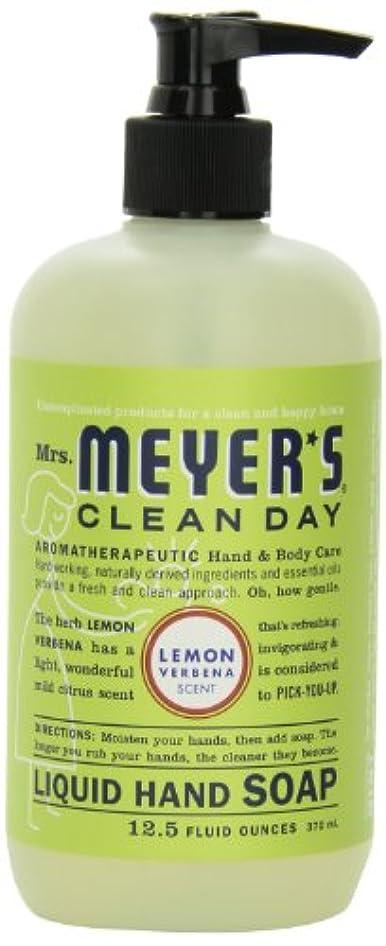 エールステージ世代Mrs. Meyer's Clean Day Liquid Hand Soap, Lemon Verbena, 12.5 Fluid Ounce Bottles (Case of 6) by Mrs. Meyer's Clean...