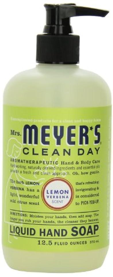 動詞結果滑るMrs. Meyer's Clean Day Liquid Hand Soap, Lemon Verbena, 12.5 Fluid Ounce Bottles (Case of 6) by Mrs. Meyer's Clean...