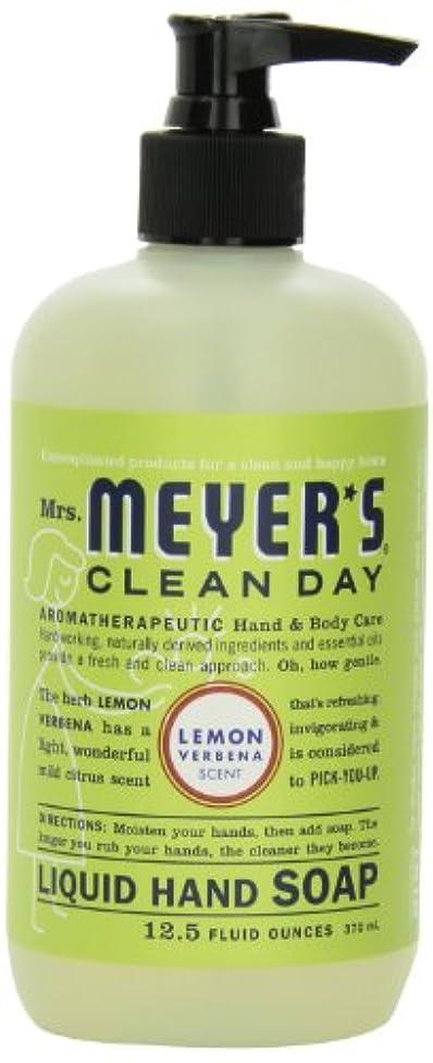 ボウリング典型的なシェトランド諸島Mrs. Meyer's Clean Day Liquid Hand Soap, Lemon Verbena, 12.5 Fluid Ounce Bottles (Case of 6) by Mrs. Meyer's Clean...