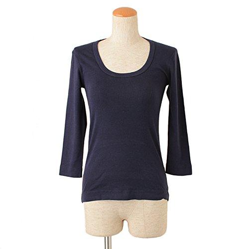 Three Dots / スリードッツ カジュアル ショートスリーブ スクープネック Tシャツ(サイズ:M、、カラー:Evening Blue)