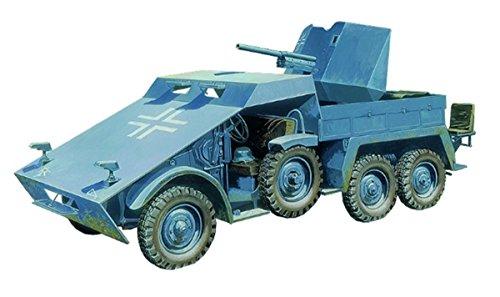 ブロンコモデル 1/35 ドイツ軍 クルッププロッツェ 3.7cm対戦車自走砲 装甲型 プラモデル CB35132