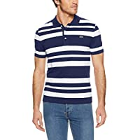 Lacoste Men's Slim Fit Stripe Polo