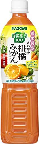 カゴメ 野菜生活100 さわやか柑橘みかんミックス スマートPET 720ml 15本