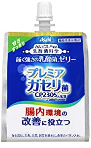 アサヒ飲料 「届く強さの乳酸菌」ゼリー 180g ×30袋 機能性表示食品