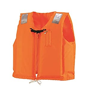 ocean life(オーシャンライフ) 国土交通省型式承認ライフジャケット 小型船舶用救命胴衣 C-II型 オレンジ C-II型 オレンジ