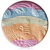 自然な専門のアイシャドウの粉の虹のきらめきの構造の美の影