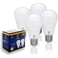 ESGOALS LED電球 E26口金 60W形相当 電球色 800 lm(10W)240°広配光 一般電球形 非調光 4個セット