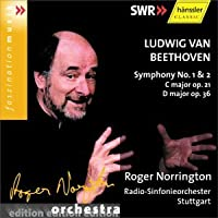 Beethoven: Symphony No.1 & 2 by Beethoven