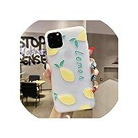 オレンジとレモンのデザイン、快適な感触、for iphone 11 11Pro 7 7P 8 P x R XSmaxに最適,for iphone XR,22