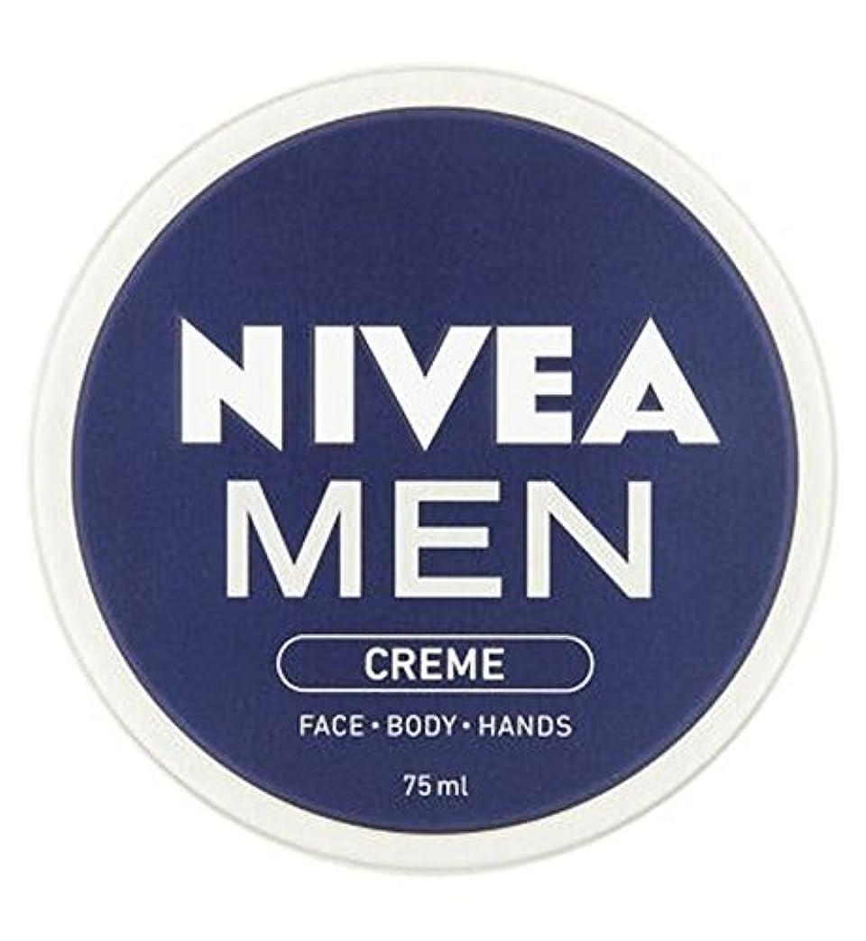 わがまま敬意を表して紀元前ニベアの男性は75ミリリットルをクリーム (Nivea) (x2) - NIVEA MEN Creme 75ml (Pack of 2) [並行輸入品]