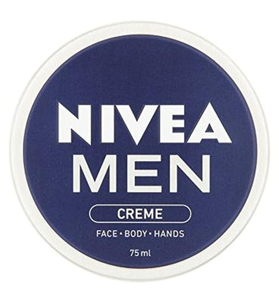 正当化するの量借りるニベアの男性は75ミリリットルをクリーム (Nivea) (x2) - NIVEA MEN Creme 75ml (Pack of 2) [並行輸入品]