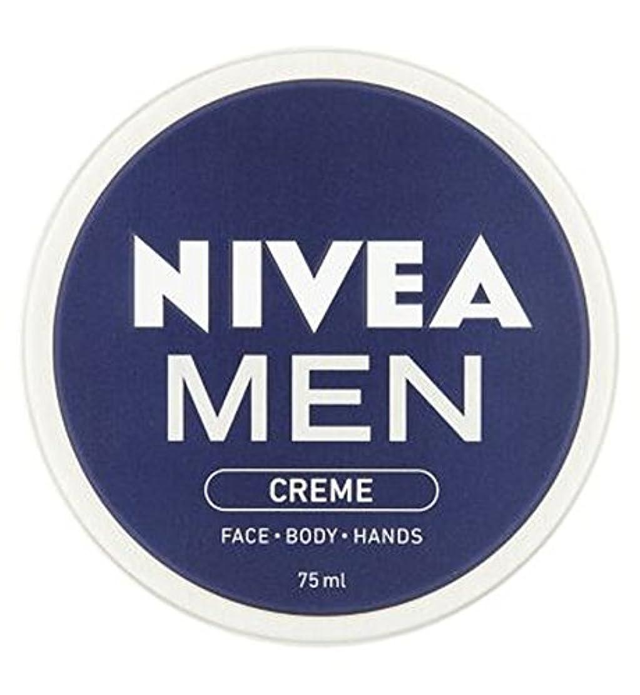 ニベアの男性は75ミリリットルをクリーム (Nivea) (x2) - NIVEA MEN Creme 75ml (Pack of 2) [並行輸入品]