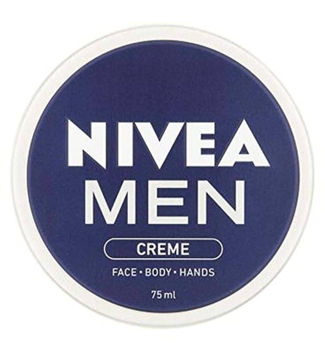 帰する成功誰がニベアの男性は75ミリリットルをクリーム (Nivea) (x2) - NIVEA MEN Creme 75ml (Pack of 2) [並行輸入品]