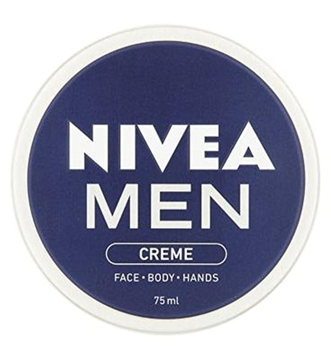 シェード小石お別れニベアの男性は75ミリリットルをクリーム (Nivea) (x2) - NIVEA MEN Creme 75ml (Pack of 2) [並行輸入品]