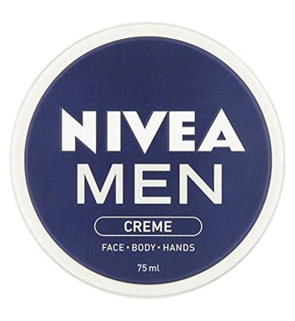 小間落ちた写真撮影ニベアの男性は75ミリリットルをクリーム (Nivea) (x2) - NIVEA MEN Creme 75ml (Pack of 2) [並行輸入品]