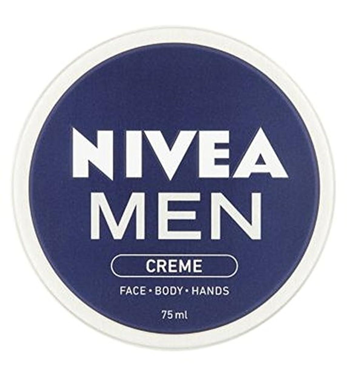 明らかにするワームトークニベアの男性は75ミリリットルをクリーム (Nivea) (x2) - NIVEA MEN Creme 75ml (Pack of 2) [並行輸入品]