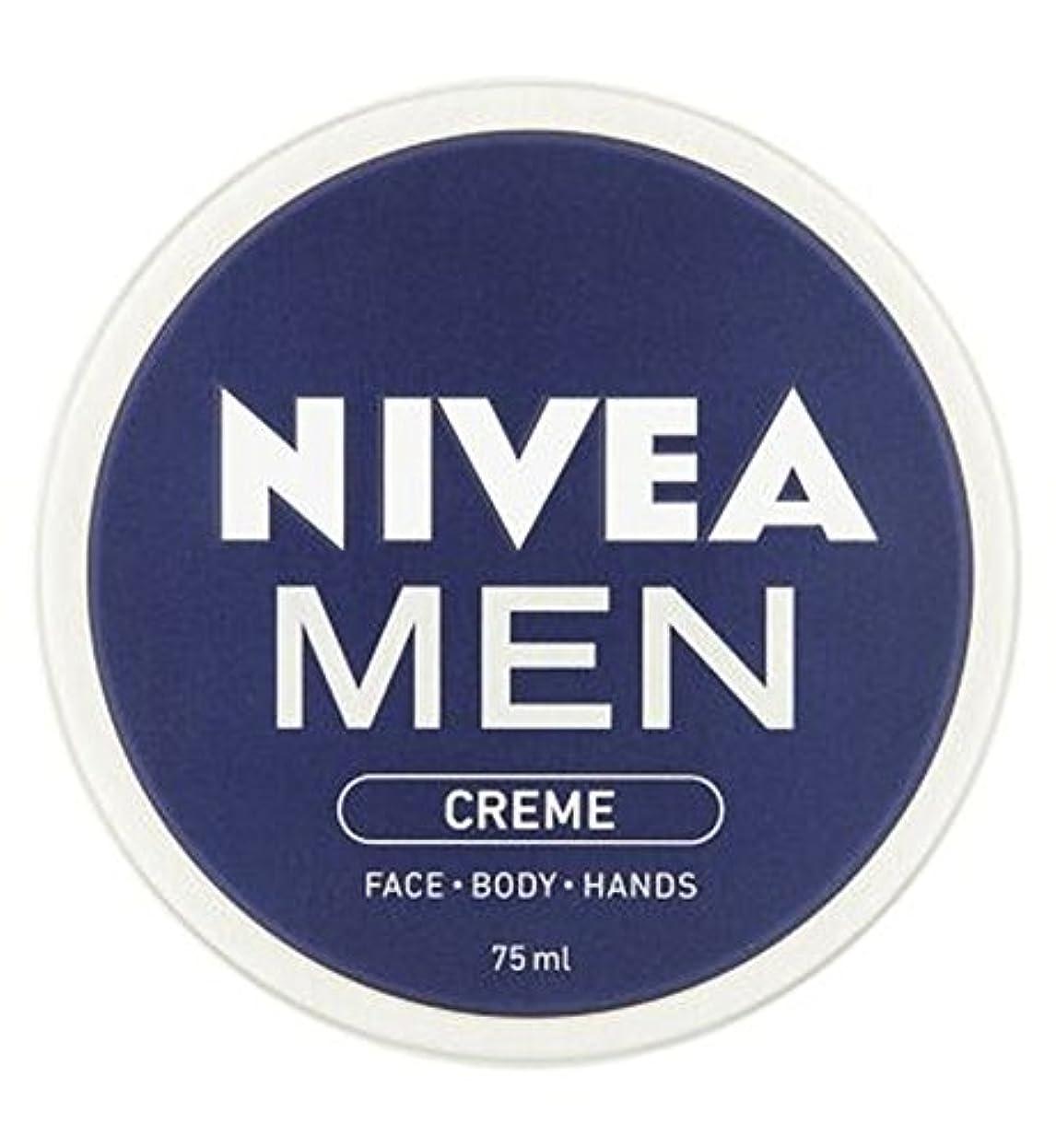一緒にケニア電卓ニベアの男性は75ミリリットルをクリーム (Nivea) (x2) - NIVEA MEN Creme 75ml (Pack of 2) [並行輸入品]