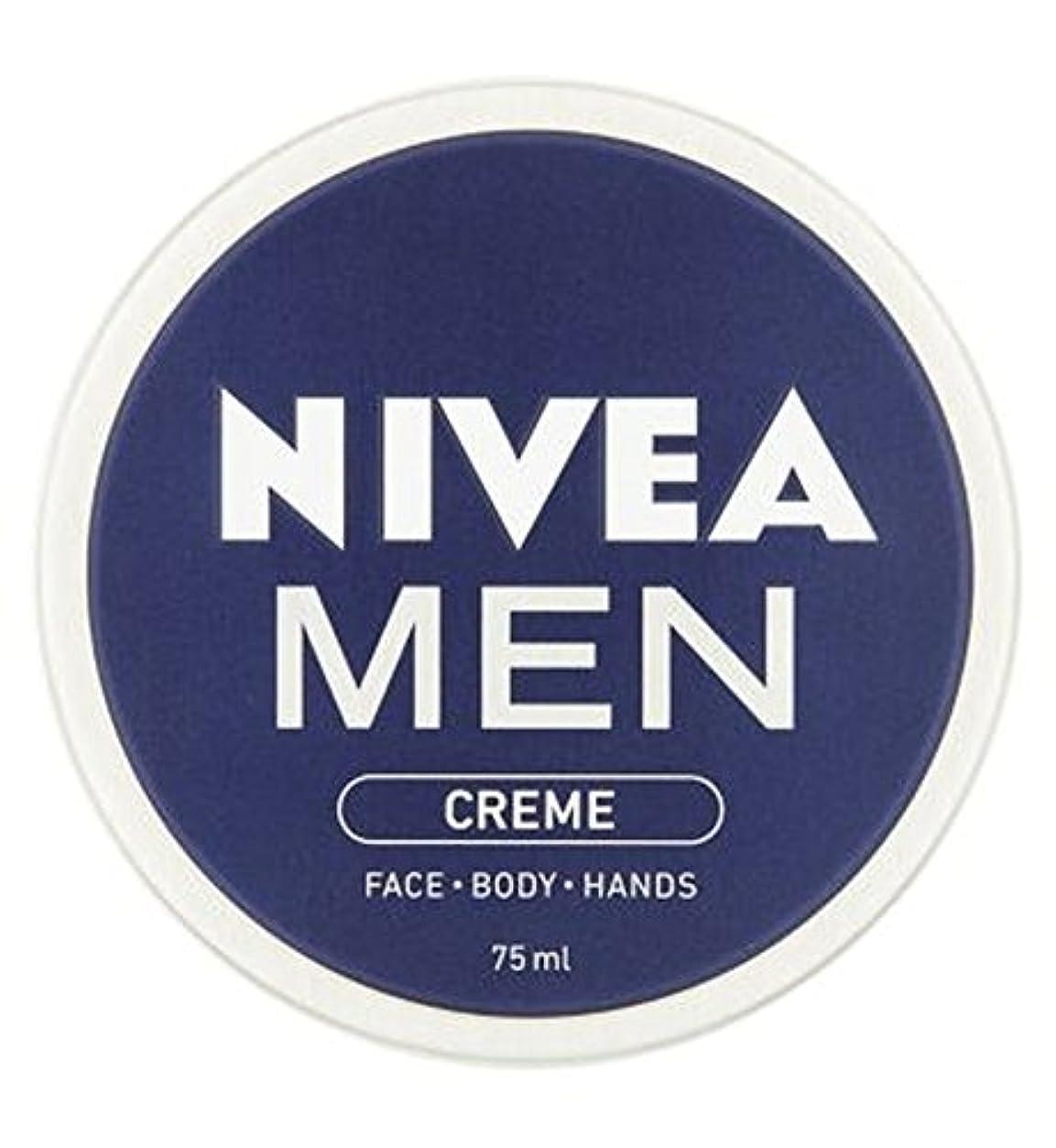 教浴マイナスニベアの男性は75ミリリットルをクリーム (Nivea) (x2) - NIVEA MEN Creme 75ml (Pack of 2) [並行輸入品]