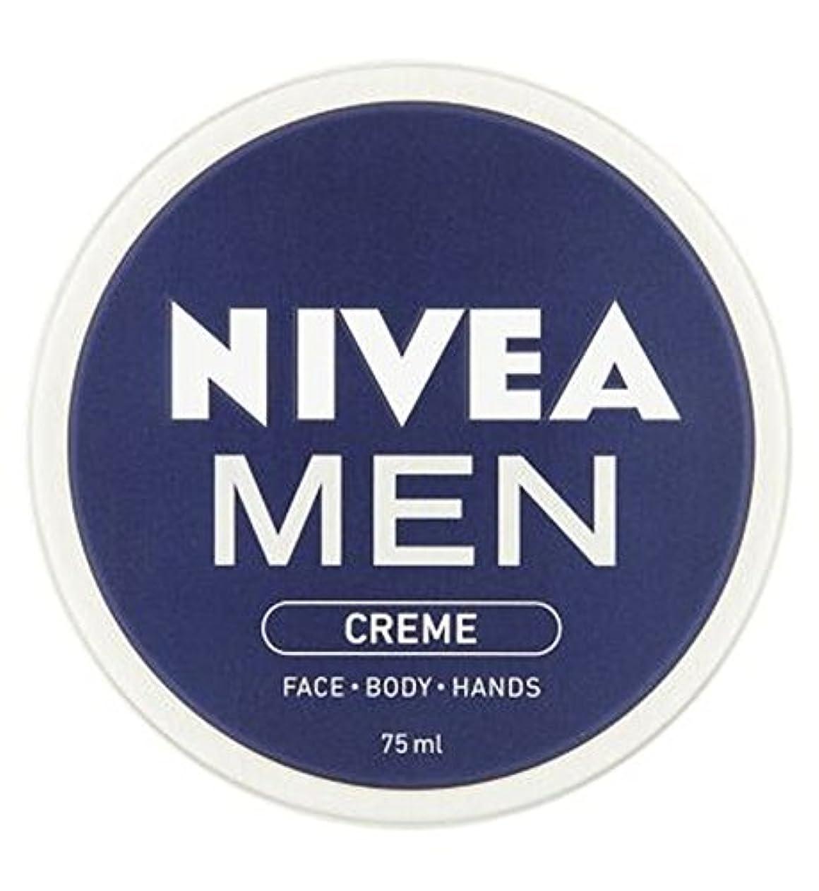 荒れ地反射権限ニベアの男性は75ミリリットルをクリーム (Nivea) (x2) - NIVEA MEN Creme 75ml (Pack of 2) [並行輸入品]
